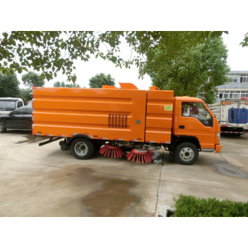 Small  Dust Vacuum Vehicle Road Clean Street Truck Sweeper
