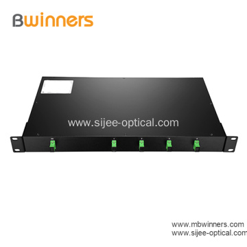 1x16 Fiber PLC Splitter with 1U 19 Rack Mount