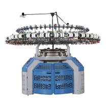 cirular knitting machine for interlock