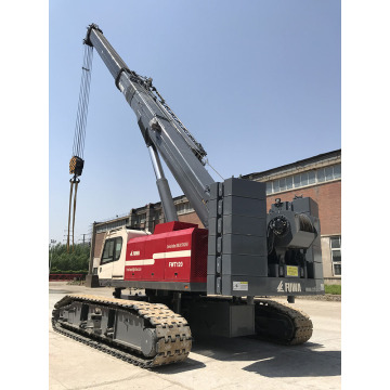 Mounted Telescopic Boom Crawler Telescopic Crane