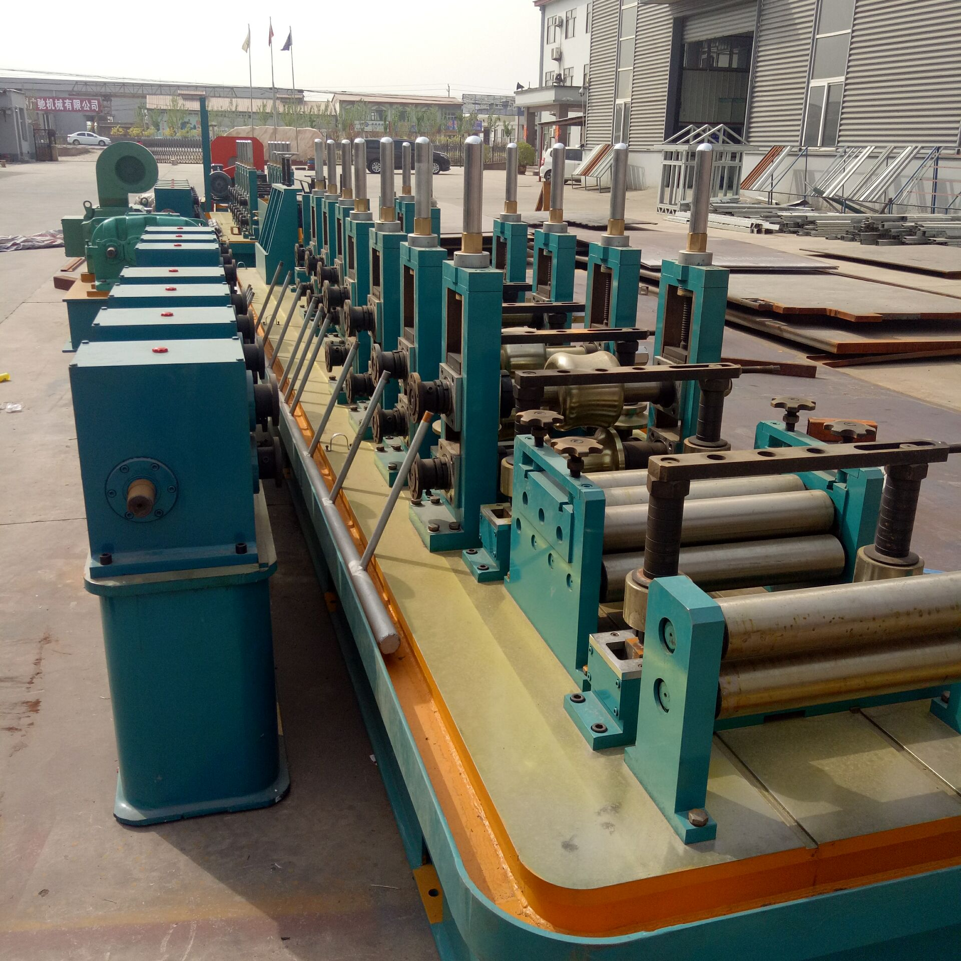 pipe making machine