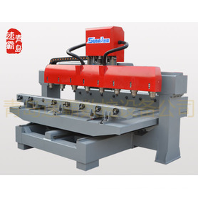4 axis 3 dimension cylindrical wood CNC router