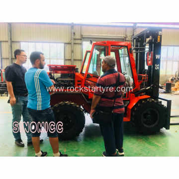 3.5 Tons 4x4 Rough Terrain Forklift W35