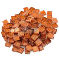 Orange Square Gliiter Mosaic Art and Craft