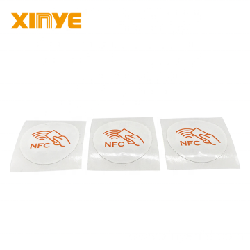 RFID 13.56MHz Customized Label Stickers NFC Tags