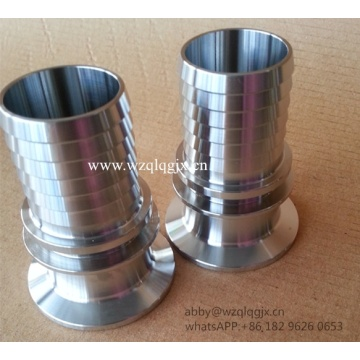 Sanitary Stainless Steel Fitting Hose Nipple 316L
