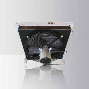 External Engine Oil Cooler With Fan