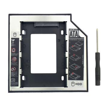 Universal Optibay 2nd HDD Caddy 12.7mm SATA3.0 2.5