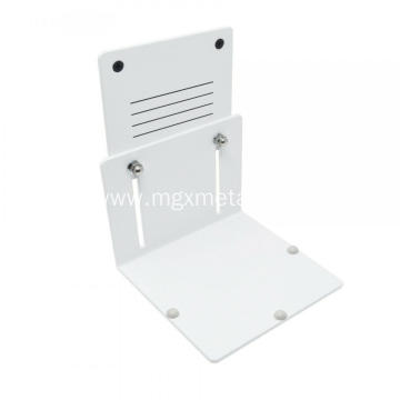 Powder Coated Metal Adjustable Shelf Height Bracket