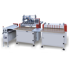 PKA double station semi-auto case hardcover making machine