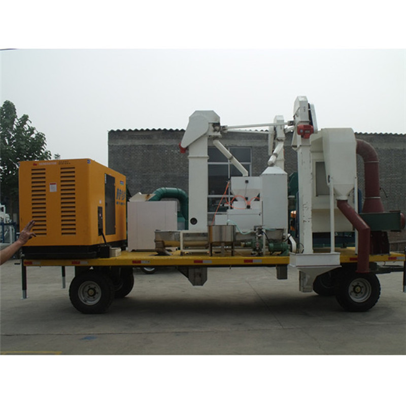 Mobile Grain Cleaning Plant