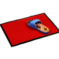 Custom size welcome mat design with striped
