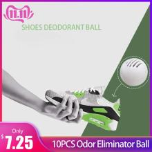 10PCS Odor Eliminator Ball for Sneakers Leather Shoes Shoe Cabinet Odor Removal Deodorant #4W