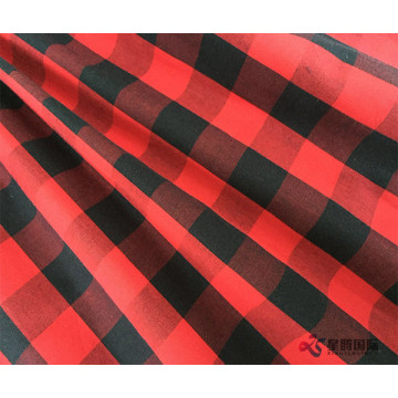 Classic Red And Black Check 100% Cotton Fabric