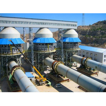 High Quality 100-500 T/D Burned Lime Production Line