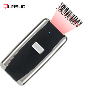 Portable Mini bluetooth barcode QR code Scanner