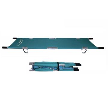 Lightweight Hospital Aluminum Double Folding Stretcher