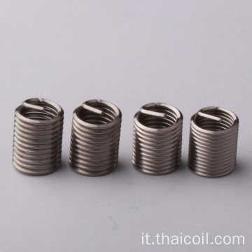 Inserto filettato in acciaio inossidabile M6x1x10,5mm