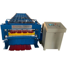 Steel Double Layer Roofing Sheet Roll Forming Machine