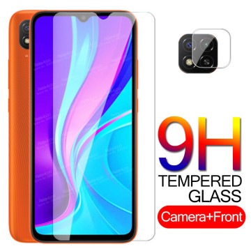 Protective Glass Redmi 9C NFC Camera Glass For Xiaomi Redmi 9C Screen Protector Redmy Redme 9 C Tempered Glass Safety Phone Film