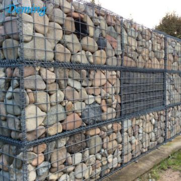Wholesale Welded Safeguard Gabion Box with Rock filled