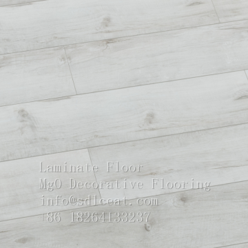 white washed oak grain laminate moistureproof mgo flooring