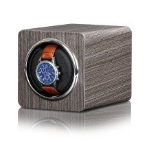 single watch roll case winder bamboo WW-9601
