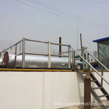 lanning waste plastic pyrolysis machine
