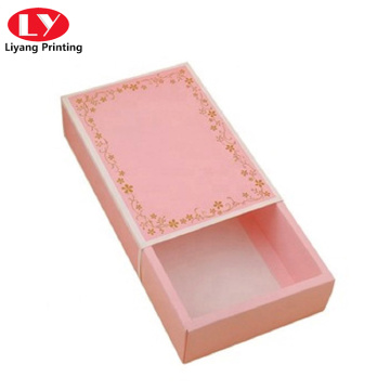 Pink Drawer box with Paper Sleeve