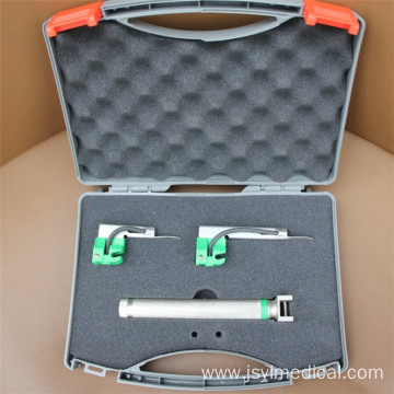 Fiber Optic Laryngoscope With 5 Reusable Blades