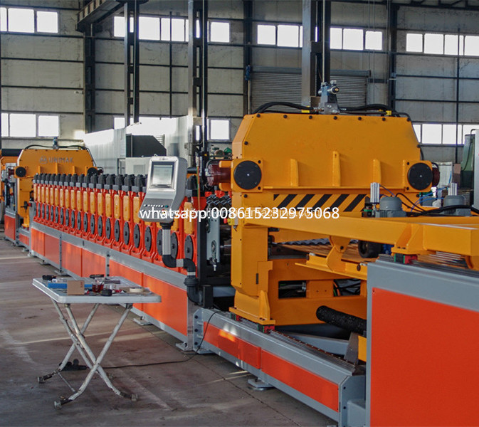 steel silo corrugated panel roll forming equipment