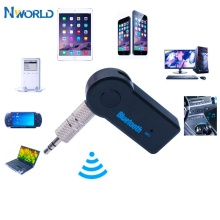 Portable Bluetooth Receiver Car Kit Wireless Audio Adapter 3.5mm Stereo For Home Audio Music Streaming Sound System Smartphone