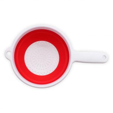 Foldable Silicone Strainer Colanders