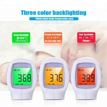 No-Contact Infrared Forehead Thermometer Medical Grade