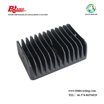 Custom made aluminum waterproof 200w automotive led heatsink