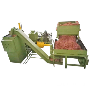 Hydraulic Steel Shavings Turnings Briquetting Press Machine