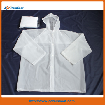 white eva adult raincoat