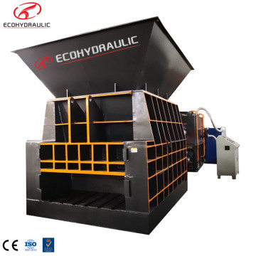 Container Type Metal Scrap Hydraulic Shear Equipment