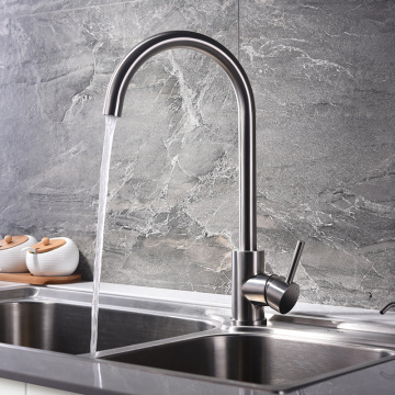 HIDEEP 304 Stainless Steel Kitchen Faucet