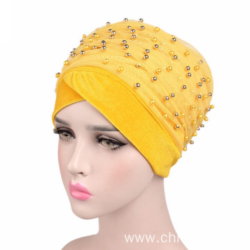 Hijab turban cap bandanas hat night cap