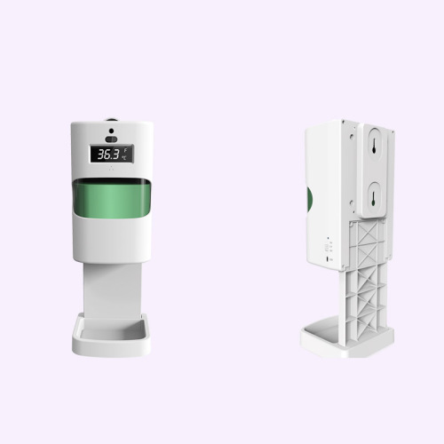Hand Sanitizer Dispenser with Skin Temperature Check