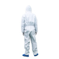 Disposable Protective Clothing Microporous Fabric Coveralls