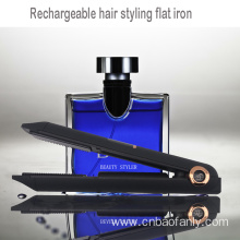 rechargeable hair styling straightener