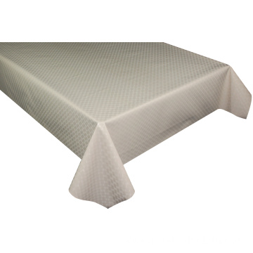 Solid Embossed Fabric Foot Pool Tablecloth