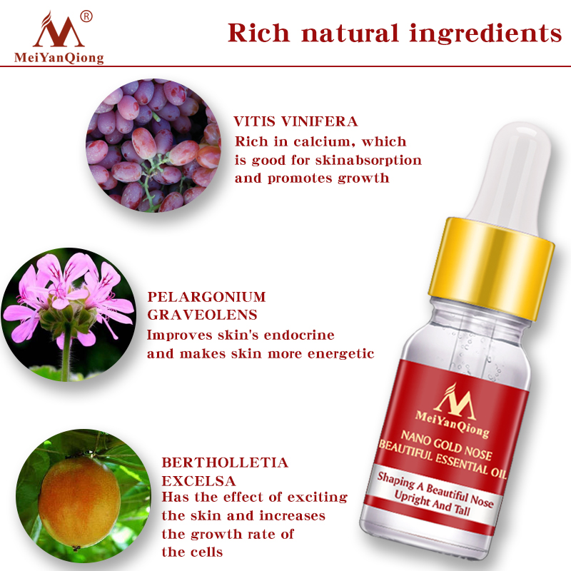 Nose Slimming Essential Oil Anti-Aging Anti-Wrinkle Skin Care Shape Firmming Repair Moisturizing Nose Face Care Serum TSLM1