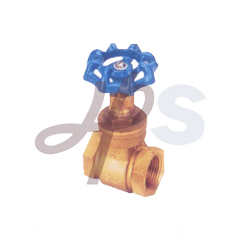 Bsp Thread Hand Wheel Brass Stem Gate Valve For Water Supply Hg05
