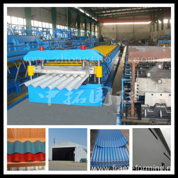 corrugated iron sheet making machine roll forming machine