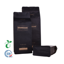 Coffee Beans Bags With Flat Bottom