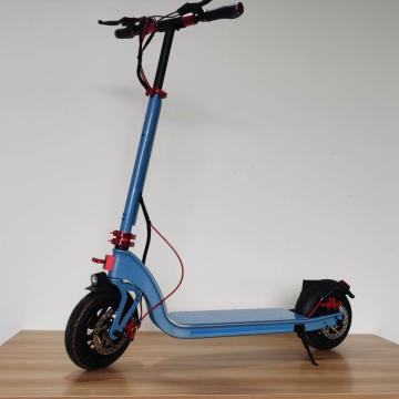 Custom Folded Blue Children Electric Scooter