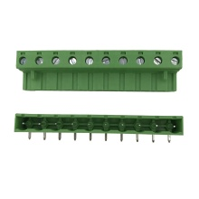 15A brass PA66 10 ways pluggable terminal block